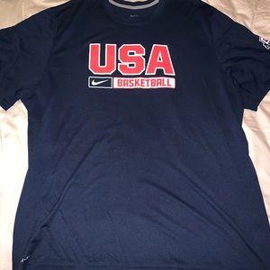 Nike USA dri-fit shirt XXL